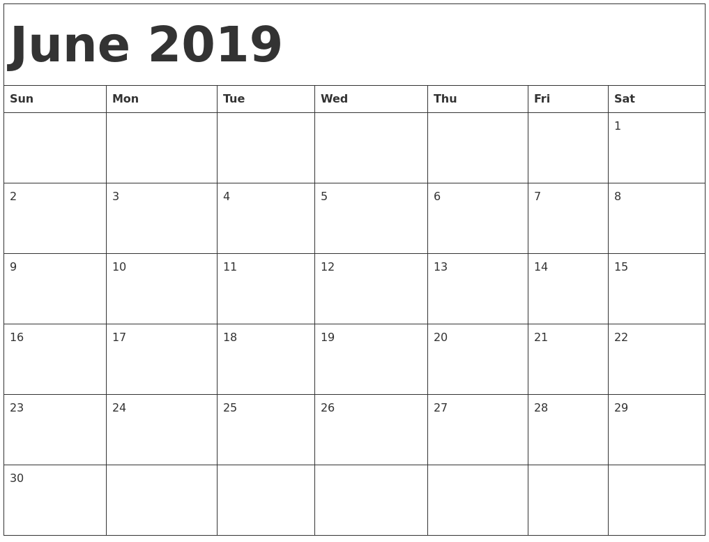 It's just a picture of Lucrative Printable June Calendars
